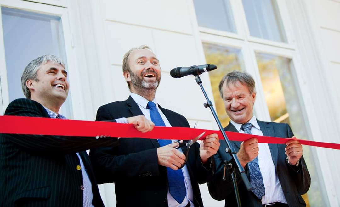 Opening of Gründernes Hus - The Entrepreneurs House - in Oslo
